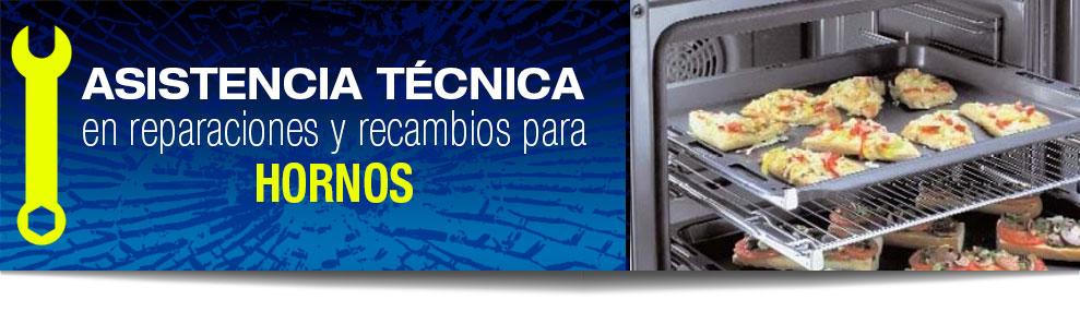 Reparación de hornos en Las Rozas, Majadahonda, Torrelodones, Galapagar