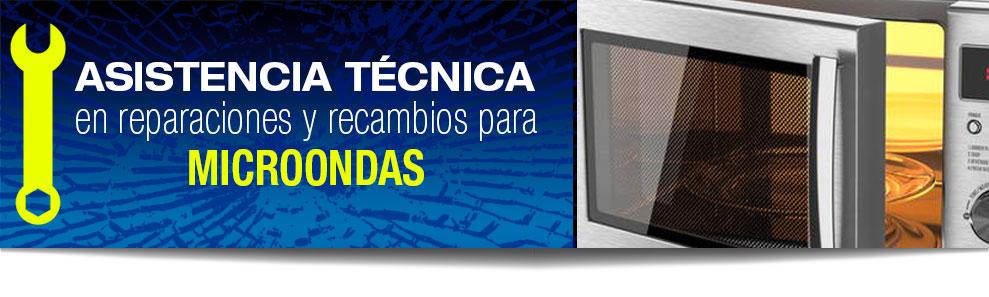 Reparación de microondas en Las Rozas, Majadahonda, Torrelodones, Galapagar