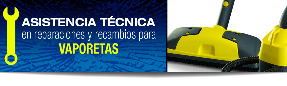 Reparación de vaporetas en Las Rozas, Majadahonda, Torrelodones, Galapagar