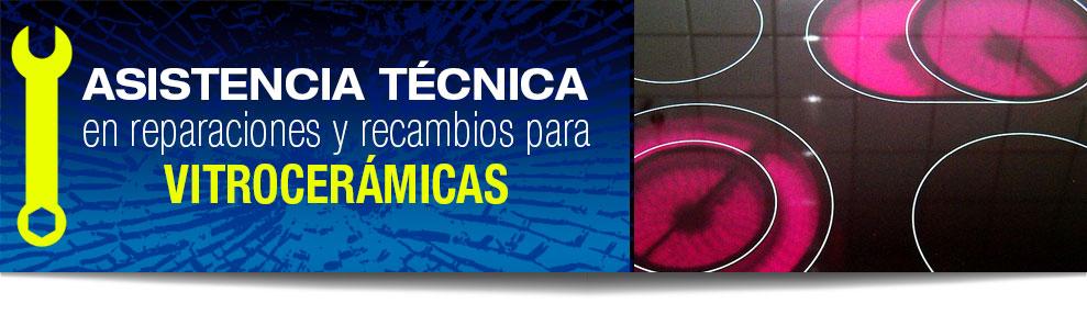 Reparación de vitrocerámicas en Las Rozas, Majadahonda, Torrelodones, Galapagar